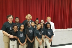 MCWC with Huie Elementary School Girls for Pearls Afterschool Program